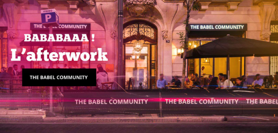AfterWork 100% décontracté en centre-ville - The Babel Community