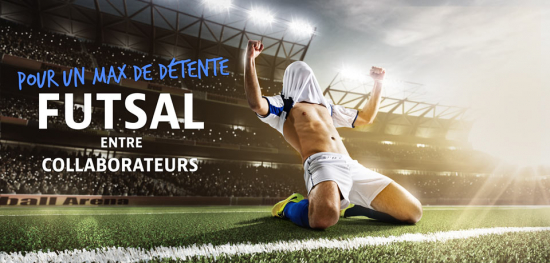 Futsal entre collaborateurs pour un maximum de détente - Soccer Center