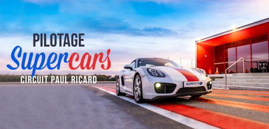 #SuperCars like a #SuperStar | Stage de pilotage sur circuit