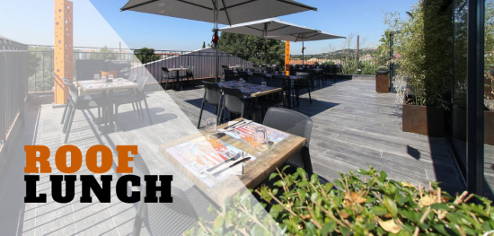 Lunch Business en rooftop à Marseille - RK - The Roof Kitchen