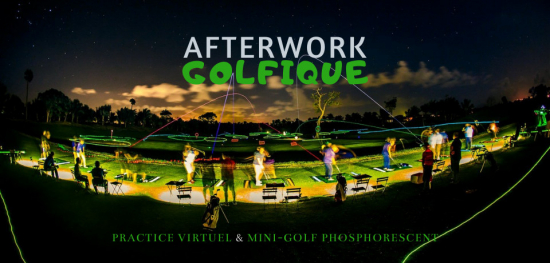 ⛳ Afterwork en entreprise | Golf fluorescent vs Practice virtuel