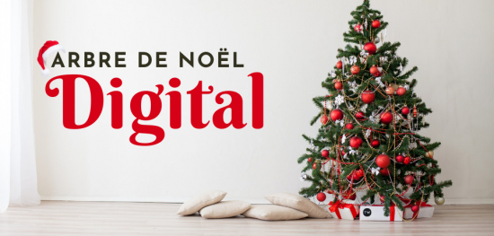 Arbre de Noël Digital pour collaborateurs