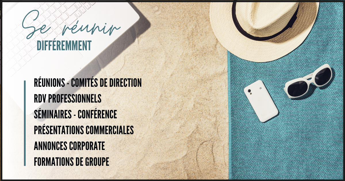 Working & Chilling by TrendyWork, Formules d'événements professionnels 5