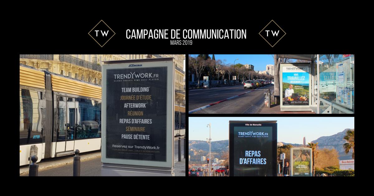Trendywork Campagne de Communication - Reportage photo et vidéo